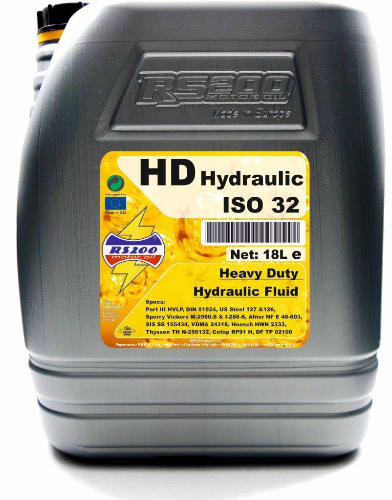 HD Hydraulic ISO 32 - RS200
